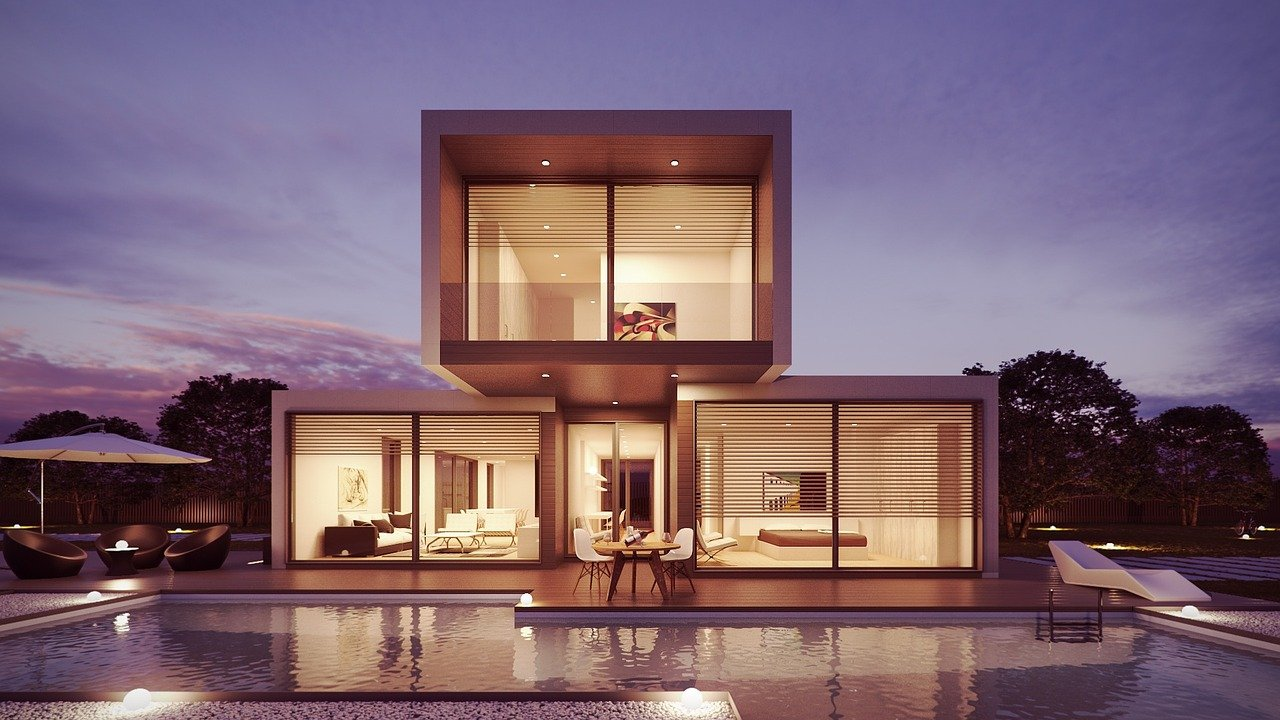 nowoczesny dom ze skupu domów